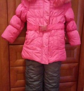 Зимнее пальто+штаны