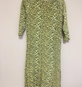 Тёплое платье с озорным бантиком
