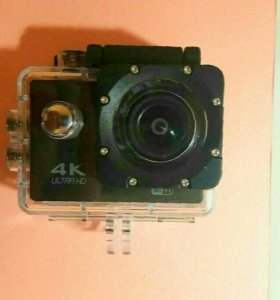 Экшн камера+коробка+карта памяти+пульт управления
