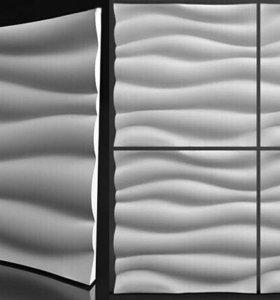 3D панели гипсовые