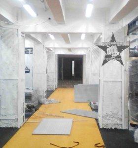 Стеновые протекторы, татами, борцовские ковры
