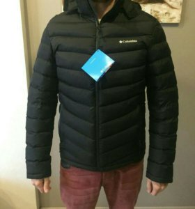 куртка новая пуховик коламбия columbia nike armani