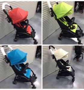 Новые коляски из эко-кожи и текстиля