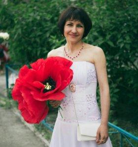 Платье вечернее,бальное.размер 42-46