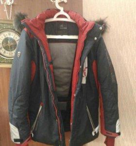 Куртка зимняя на мальчика лет 12-14