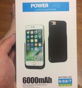 Чехол аккумулятор для iPhone 6/6S/7