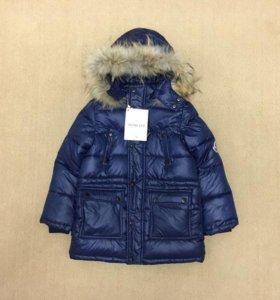 Куртка зимняя размер 130. Новый