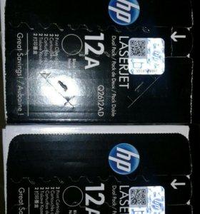 Картриджи HP LJ Q2612AD DublePack