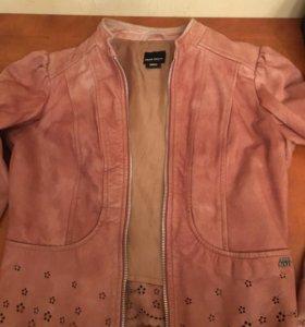 Пиджачок кожаный Miss sixty