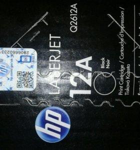 Картридж HP LJ Q2612AD