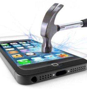 Защитные стёкла на iPhone 6, 6S и др.