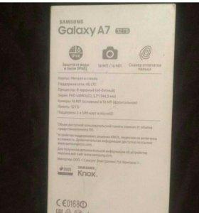 Galaxy A7 2017 32гб