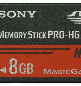 Sony memory stick pro hg duo 8 gb