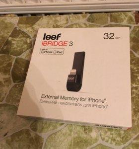 Флешка для iPhone Leef iBridge 32GB