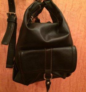 Новая чёрная сумка