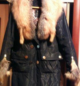 Пальто-пехора, очень теплое, зимнее.