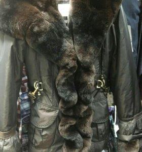 Очень теплая,новая, зимняя куртка!