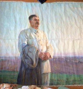 Картина-полотно (Сталин Антиквариат)