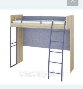 Кровать чердак Индиго