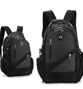 Новый фирменный рюкзак SwissGear с AUX+USB+Чехол
