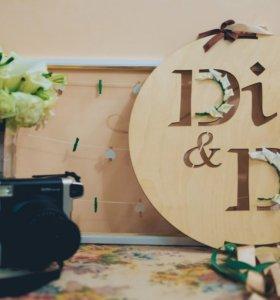 Полароид fujifilm на свадьбу