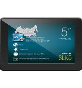 GPS навигатор explay SLK5