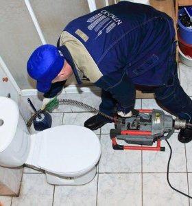 Устранение засовов канализации слесарь