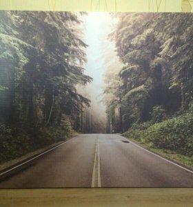 #Дорога_в_лесу #Картина_на_холсте