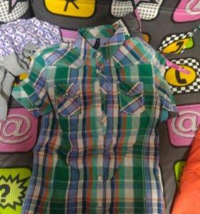 Новая Клетчатая рубашка