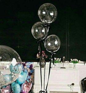 Идеально прозрачные воздушные шары