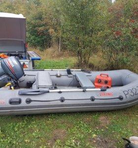Лодка посейдон викинг 360+ прицеп