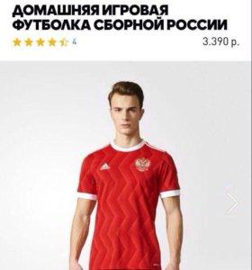 Футболка сборной России 2017