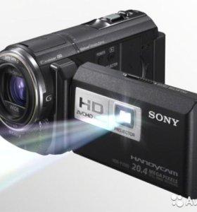 Видеокамера sony hdr-pj580e(с проектором)