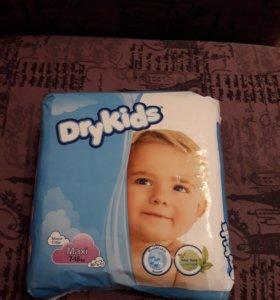 Подгузники Dry Kids 7-18кг