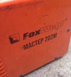 Продам сварочный аппарат Fox Weld Мастер 202М