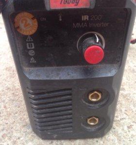 Продам сварочный аппарат fubag IR200