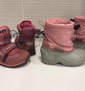 Сноубутсы Mursu 23 размер и ботинки ортопедические