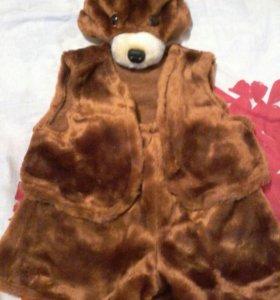 Детский новогодний костюм медведя