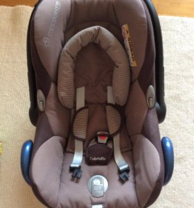 Автокресло maxi cosi cabrio fix earth brown