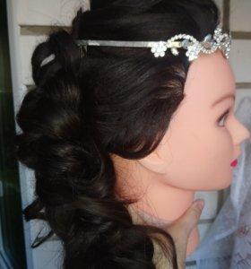 Прическа 💒 свадебная