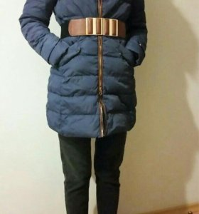 Пальто - пуховик.
