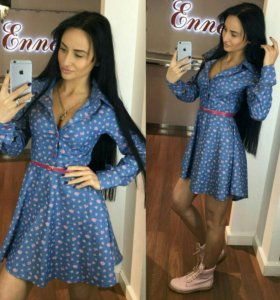 В наличие новое  джинсовое  платье Енелли