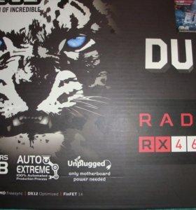 Видеокарта asus AMD Radeon RX 460