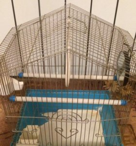 Клетка для волнистых попугайчиков