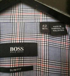 Классическая рубашка Hugo Boss Black