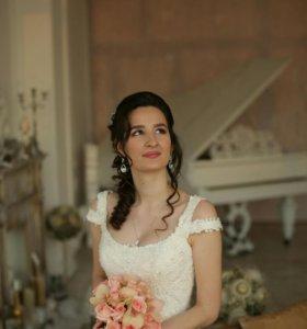 Свадебное платье Nora Naviano. Силуэт русалка