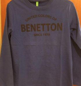 Benetton новый джемпер 116-122