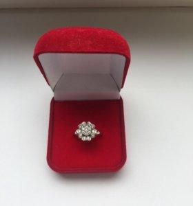 Кольцо серебряное Valtera