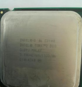 Процессор на 775 сокет intel core 2 duo