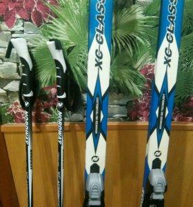 Лыжи беговые для подростка
